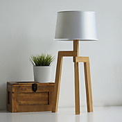 Tripod Industrial Style Wood Loft T-6052 Table Lamp