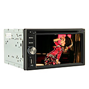 6.2 Inch 2DIN Car DVD Player (GPS, RDS, iPod)