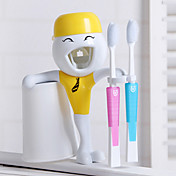 Cartoon Pasta de dientes y cepillo de dientes