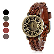 Women's Quartz Leather Analog Wrist Watch (Assorted Colors)