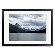 Framed Art Print Landscape Blue Horizon I by Willow Way Studios, Inc.