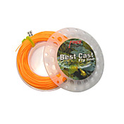 Weight-Forward Floating Orange Fly Line 30m (5F-8F)