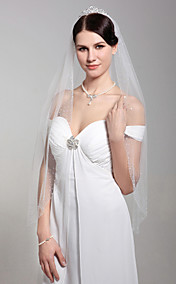 1 Layer Marvelous Elbow Wedding Veil
