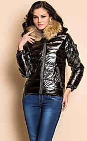 TS Real Fur Collar Down Jacket (More Colors)