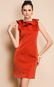 TS Simplicity Shape Adjustable Collar Cocktail Dress