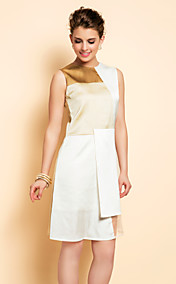 TS Simplicity Color Block Slim Dress