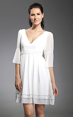 ULTIMA - Robe de Cocktail Mousseline