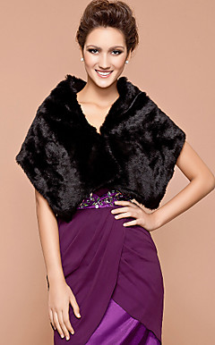 Feather/ Fur Wedding/ Party Shawls More Colors Available