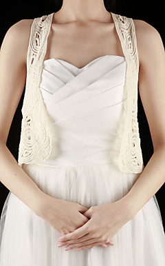 Gorgeous Cotton Sleeveless Wedding / Special Occasion Vest