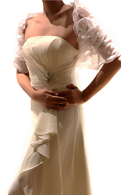 Delicate Half-Sleeve Wedding/Evening Jacket/Wrap