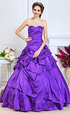 robe de bal sweetheart parole longueur taffetas robe de soire