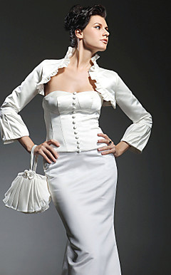 Terrific Long Sleeve Wedding/Evening Jacket/Wrap (More Colors)