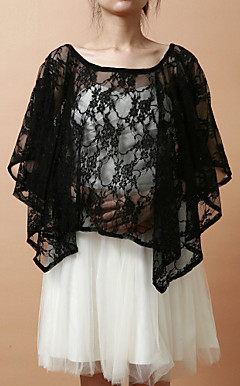 Elegant Lace Evening/Wedding Puncho (More Colors)
