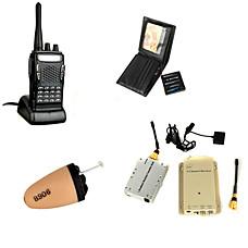 venta al por mayor Cámara Espía Inalámbrica + Receptor + Walkie Talkie + Auricular Espía