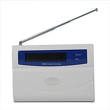 venta al por mayor Sistema de Alarma de Casa con Pantalla LED Color GSM Inteligente 11 Zonas Guardadas Inalámbricas (SFA120)