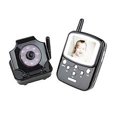 venta al por mayor 2,5 pulgadas TFT LCD de 2,4 GHz inalámbricos digitales Baby Kit DVR monitor con cámara de visión nocturna inalámbrica (sfa331)