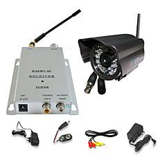 venta al por mayor de visión nocturna impermeable de color kit inalámbrico de cámaras de seguridad (SFA-010219)