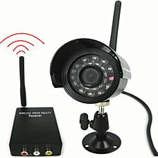 venta al por mayor 2.4ghz color kit de cámara inalámbrica con cámara de visión nocturna (sfa1072)