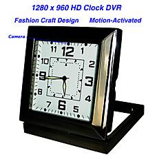 venta al por mayor reloj con movimiento de alta definición cámara activa oculta + grabadora de vídeo