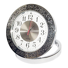 venta al por mayor HD 1280x960 estilo de reloj registrador digital de vídeo activada por movimiento oculto agujero de alfiler cámara a color