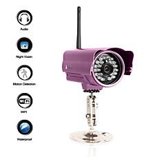 venta al por mayor la cámara IP a prueba de agua con sensor de visión + noche + de alerta