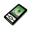 4gb 1,8 pulgadas CSTN 65k pantalla LCD a color de MP4 / MP3 Player (negro) (e4u-147)