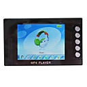 De 3 pulgadas TFT 262k color verdadero pantalla mp4 Player 4GB (negro) (zsz-007c)