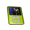 "1.8 ""TFT moda 2 gb mp4 player / verde"