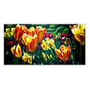 Handmade Flowers Art Oil Painting on Canvas High quality GDH-159 (Start From 20 Units) Free Shipping