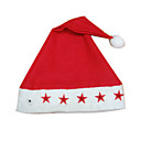 Deluxe Non-woven Christmas Red Hat (FS003) (Start From 50 Units)-Free Shipping