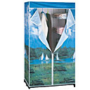GUANGDA Durable Portable Non-woven Storage Wardrobe (JAJU012)(Start From 10 Units)-Free Shipping