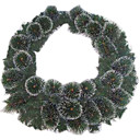 Christmas Wreath (HH004) (Start From 30 Units)-Free Shipping