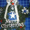 Star-shaped Christmas Wreath (HH010) (Start From 30 Units)-Free Shipping