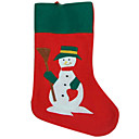 Plush Red Christmas Stocking (SDWZ002) (Start From 300 Units)Free Shipping