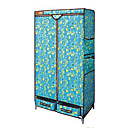 Durable Foldaway Non-woven Storage Wardrobe (JAJU007)(Start From 10 Units)-Free Shipping