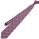 Red And Black Gingham Check Tie 100% Silk Hand Made(QRJ051) (Start From 3 Units)Free Shipping