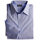 Tallman Dress Shirt- Pinpoint Stripe Button Down Collar (CHS013)-Free Shipping