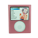 Pink Aluminum Case Metal Cover for iPod Nano 3 3rd Gen(ip010)-Free Shipping by Air Mail