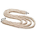 White 6.5-7mm A Freshwater Pearl Necklace 16 inch Choker Length (DSZZ004)