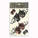 Dog Animal Temporary Tattoos One Sheet(TYWS0005) (Start From 50 Units)