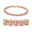 "Pink 8.5-9mm AAAA Freshwater Pearl Necklace 16""Length (DSZZ014) (Start From 3 Units) Free Shipping"