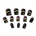12 Pcs Special Design Art Acrylic False Nails Tips  (Start From 20 Units)