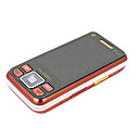 COOLHB718 Media Cell Phone with FM Function Red  (Not For U.S/Canada)