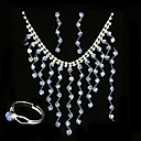 Elena Wedding Jewelry 4 piece Set (TYPJ013)
