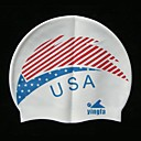 Yingfa Silicone Swim Caps White (PJ006) (Start From 10 Units) Free Shipping