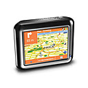 3.5-inch Portable Car GPS Navigator with MP3 Function  GPS6087A + 2GB SD Card and Free Map (SZC237)