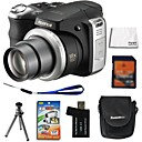Fujifilm Fuji FinePix S8100fd 10.0MP Digital Camera + 4GB SD Card + 6 Bonus
