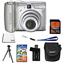 Canon PowerShot A580 8.2MP Digital Camera + 2GB SD Card + 6 Bonus