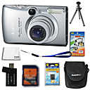 Canon IXUS 970 / PowerShot sd890 ist 10.1MP Digital Camera + 4GB SD-Karte + Akku + 6 Bonus