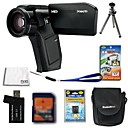 Sanyo Xacti VPC-HD1000 4.0MP HD Video Camera + 4GB SD Card + Extra Battery + 6 Bonus